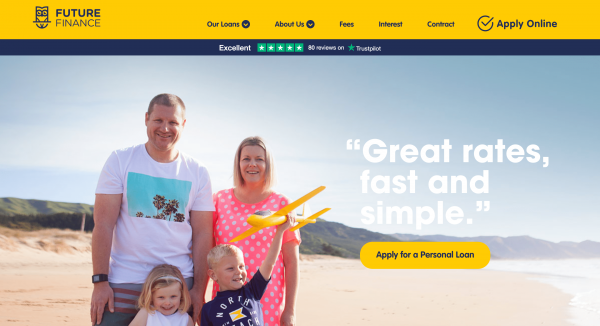 Future Finance - Personal loans up to $80 000