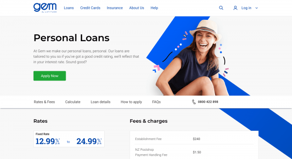 Gem Personal Loan - Online loans up to $200 000