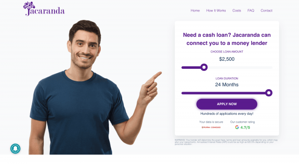 Jacaranda Finance - Online loans up to $10 000