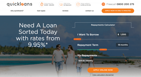 Quick Loans - Personal loans up to $20 000