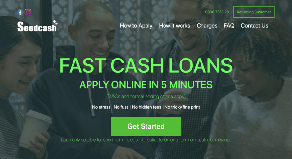 Seed Cash - Online loans up to $5 000