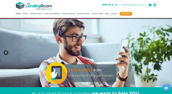 The Lending Room - Personal loans up to $25 000